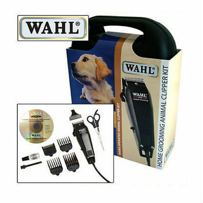 New Wahl Animal Pet Dog Hair Grooming Clipper Trimmer DVD & Case Kit Set