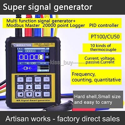 4-20mA signal generator calibration Current voltage PT100 thermocouple Pressure