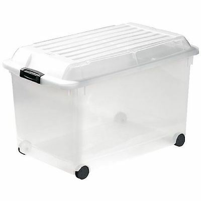 Curver Multiboxx storage box with wheels 70L