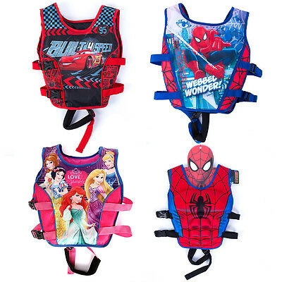 Cartoon Youth Children Universal Polyester Life Jacket Swimming Boating Vest