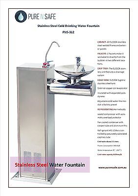 PURE N SAFE Freestanding Instant Water Chiller Bubbler fountain, PNS-312