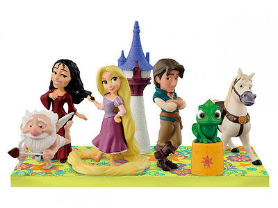 Disney Characters World Collectible figure story.02 Tangled Rapunzel Complete