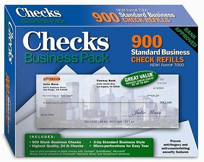 Checks - Business Pack, Blank Form #7000