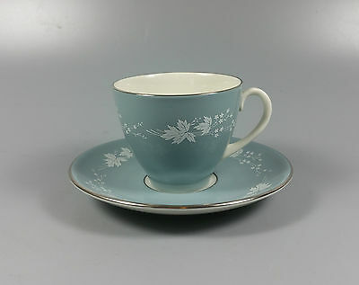 Royal Doulton Reflection Tc1008 Coffee Cup And Saucer (Perfect)