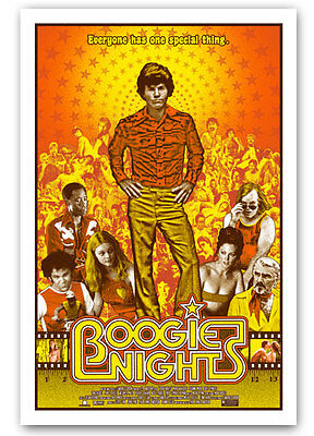 Boogie Nights 24x36 Poster Signed A/P Artist Proof #/30 Private Commision