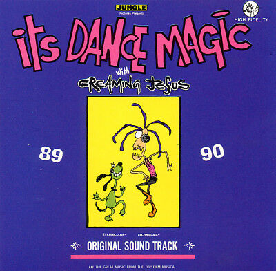 CREAMING JESUS 'It's Dance Magic' LP vinyl 1991 early singles A Forest punk goth