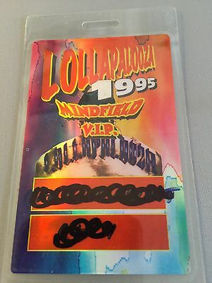 Unused VIP Laminate Lollapalooza Irvine Meadows 1995 Moby/Beck/Cypress Hill/more