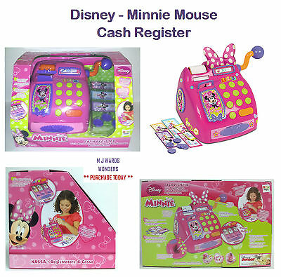 Disney - Minnie Mouse - Cash Register – Till - Toy Game Kids Play