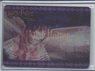 Harry Potter And The Sorcerer's Stone Lenticular Case Topper Card Soaring Owl