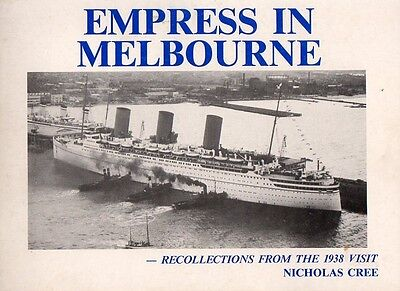 Canadian Pacific EMPRESS OF BRITAIN 1938 Australia OceanLiner Photo History Book