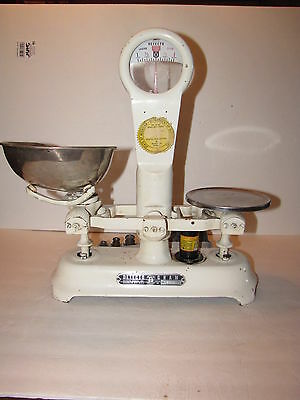 Antique Detecto Gram Scale With Weights Brooklyn, N.y.
