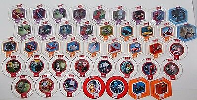 Disney Infinity 2.0 Marvel Hero Power Discs Complete Pick Your Set Free Shipping