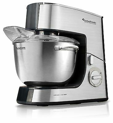 TurboTronic 2000W Food Stand Mixer With Fully Stainless Steel Body And 6.5L Bowl