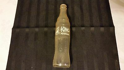 King Beverages Pop Bottle Vintage Moose Jaw Jackson Bottling Company
