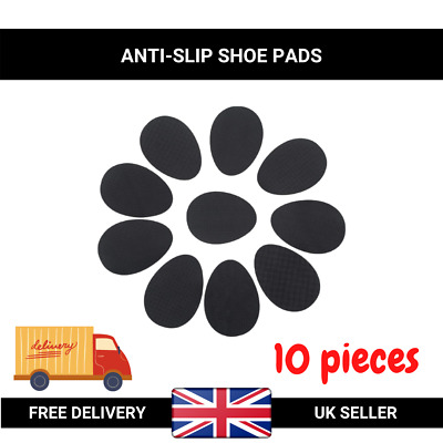 UK 5 Pairs Self-Adhesive Anti-Slip Stick on Shoe Grip Pads Rubber Sole Protector