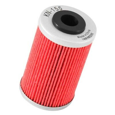 KN-155 K&N Powersports OE Performance Engine Oil Filter Cartridge K and N Part