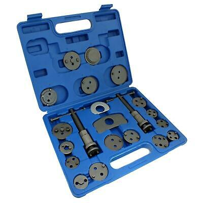 19pc Left and Right Hand Brake Caliper Rewind Wind Back Tool Piston Kit Set New