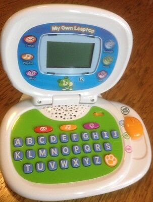 LeapFrog My Own Leaptop Green Computer Educational ...
