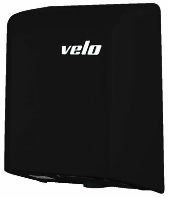 Velo Commercial Fuga Black Automatic Jet Hand Dryer - 5 Yr Wty
