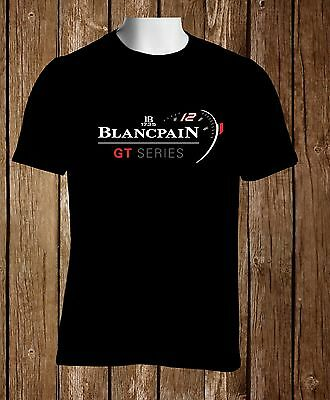 Blancpain GT Series Watch Logo Black T-Shirt Watches Custom Men's Tshirt Sto3XL