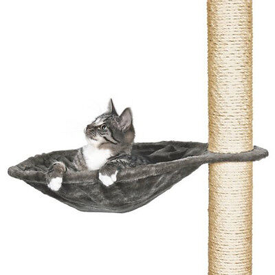 Trixie 43542 Hammock Style Seat for Cat Tree Metal Frame ・40 cm Platinum - NEW