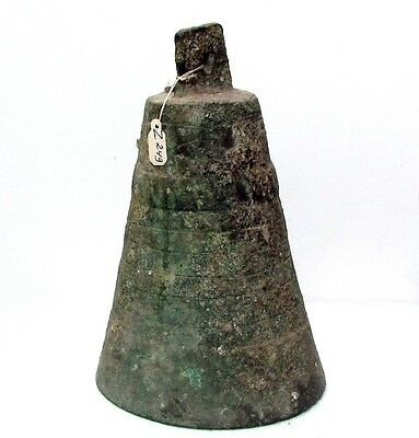 Ancient Crusader Large Bronze Bell