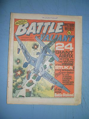 Battle Picture Weekly issue dated November 27 1976 Valiant
