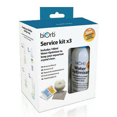 biOrb Service Kit with Water Optimiser (Pack of 3) - SAME DAY DISPATCH