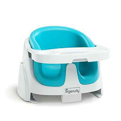 Ingenuity 2-in-1 Baby Base Booster Seat (Aqua Blue) - SAME DAY DISPATCH
