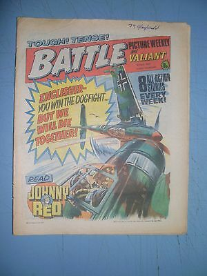 Battle Picture Weekly issue dated April 16 1977 Valiant