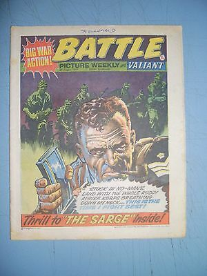 Battle Picture Weekly issue dated August 20 1977 Valiant