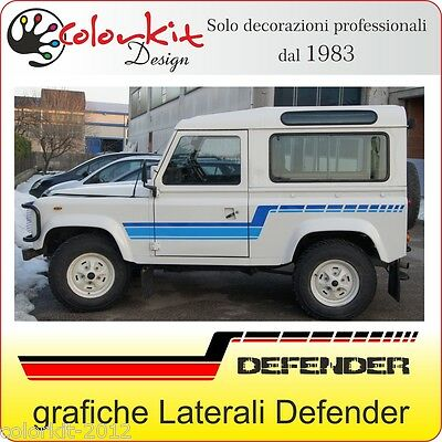 Fasce laterali adesive per Land Rover DEFENDER - by Colorkit Cod.000321