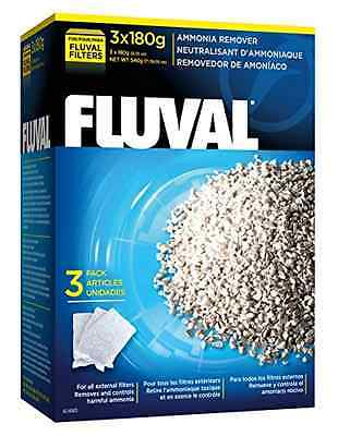 Fluval Ammonia Remover (3 x 180G) - SAME DAY DISPATCH