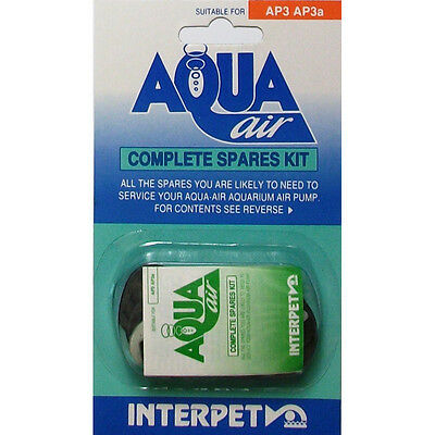 Interpet Aqua Air AP3 Complete Annual Maintenence Kit - SAME DAY DISPATCH