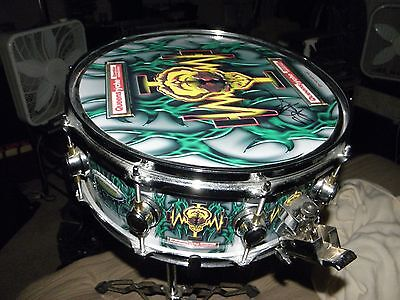 Queensryche Operation Mindcrime Snare Drum Signed By Scott/mint/rare/comes W/std