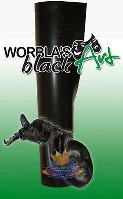 Thermoplastic Worbla® Black Art Heat Activated Molding Material 25x37.5cm