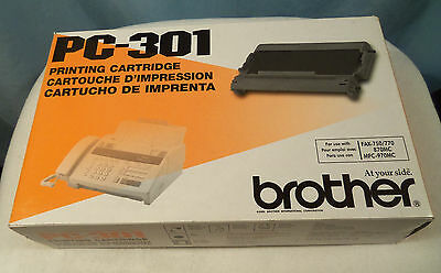 Brother PC-301 Printing Cartridge for use with Fax 750/770 870MC 970MC