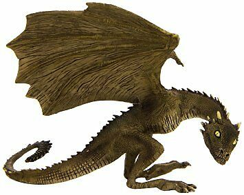 Game of Thrones Rhaegal Baby Dragon Figure Statue Licensed Noble Collection