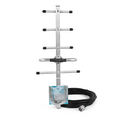 Mobile signal booster 8dBi 800/850/900MHz External Yagi Antenna N Male Connector