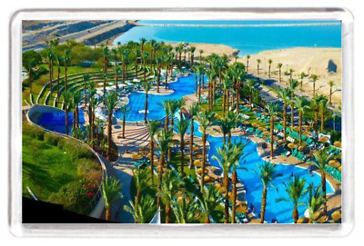 Fridge Magnet Isreal Dead Sea Health Spa Holiday Resort Nature Scenery Gift