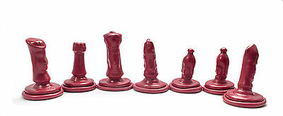 791 Chess Set Moulds 'Symbolic'