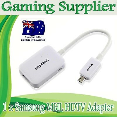 Samsung MHL Micro USB to HDMI HDTV Adapter for Samsung Galaxy S2 S3 S4 Note 2