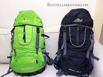 Outdoor Camping Backpack Travel mountain climbing package Waterproof 65L