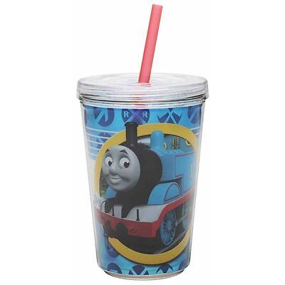 Thomas The Tank Engine-13 Oz. Chiller Cup With Straw