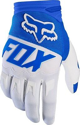 Abbigliamento Cross,enduro Guanto Fox Dirtpaw Race Blu 2017 Tg S
