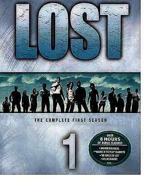 Lost The Complete First 1 Season DVD 2005 7-Disc Set FACTORY SEALED FREE SHIP US