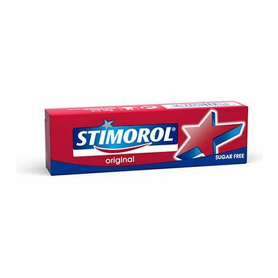 Stimorol Original Chewing Gum (Sugar Free) Pack of 5 from Europe