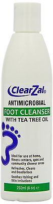 ClearZal Foot Cleanser with Tea Tree Oil 232 ml