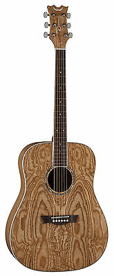 Dean AXS Dreadnought acoustic Quilt Ash Gloss natural finish