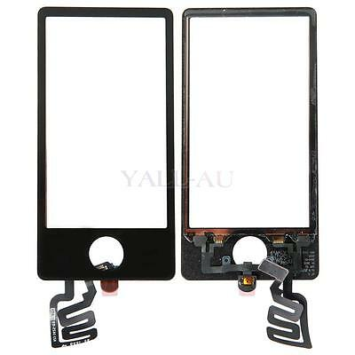New Touch Screen Digitizer Glass Panel Replace For iPod Nano 7 7th Gen Black